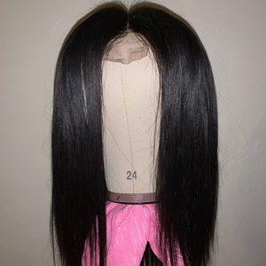 "Custom wig 14"" Peruvian bundles"